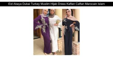Eid Abaya Dubai Turkey Muslim Hijab Dress Kaftan Caftan Marocain Islamic Clothing For Women Ramadan