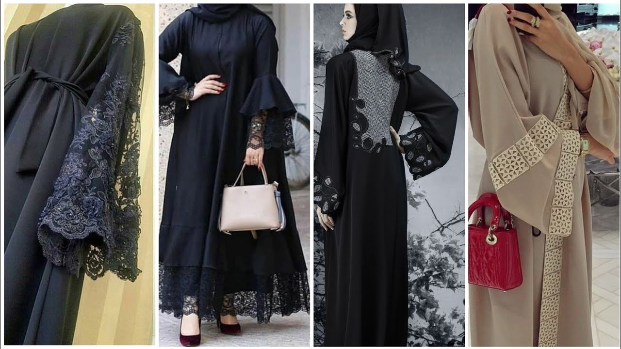 Most trending fashion trend of Abaya sleeves / designer abaya sleeves designs with different style,