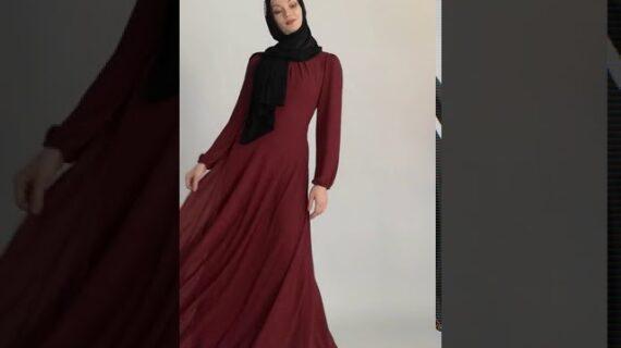 Wholesale Rayon Long Sleeve Chiffon Abaya Islamic Clothing Dress Maxi Dresses For Muslim Women